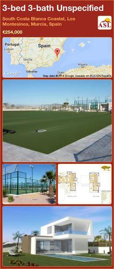 3-bed 3-bath Unspecified in South Costa Blanca   Coastal, Los Montesinos, Murcia, Spain ►€254,000 #PropertyForSaleInSpain