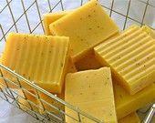 yellow soap. :)