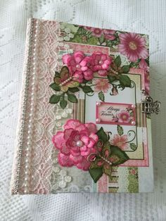 "TPHH Heartfelt Creations ""Birds And Blooms"" Large Album By Cheryl"