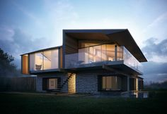 Silver House in South Wales by Hyde + Hyde Architects
