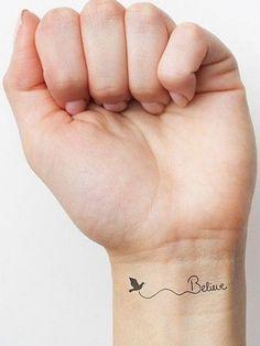 bilek dövmeleri bayan wrist tattoos for women 5 meaningful tattoos Meaningful Tattoos For Women, Wrist Tattoos For Women, Small Tattoos For Guys, Small Wrist Tattoos, Cute Small Tattoos, Little Tattoos, Mini Tattoos, Trendy Tattoos, New Tattoos