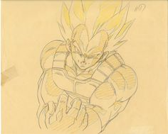animated dragon_ball_series dragon_ball_z effects genga tadayoshi_yamamuro