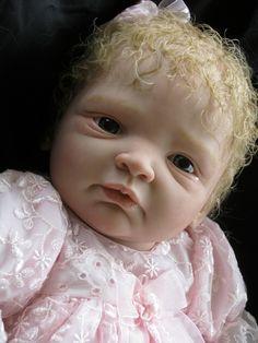 Reborn baby mannequin created by Andama Dujon using a Nina sculpt by G Legler