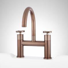 Brooklyn Bath Faucet by Watermark - industrial style widespread ...