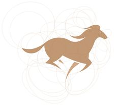 golden ratio horse logo