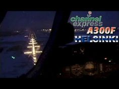 AIRBUS A300B4 Winter Landing in Helsinki (2001)