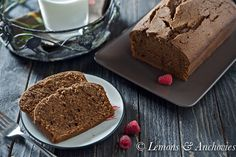 Chocolate Pound Cake-3...I love cakes you bake in a loaf pan....going to try this one today.