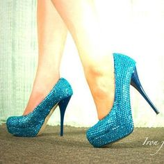 I need these...but in a smaller heel. I can't do that high. 1. I'm too tall and 2. I'd break something.