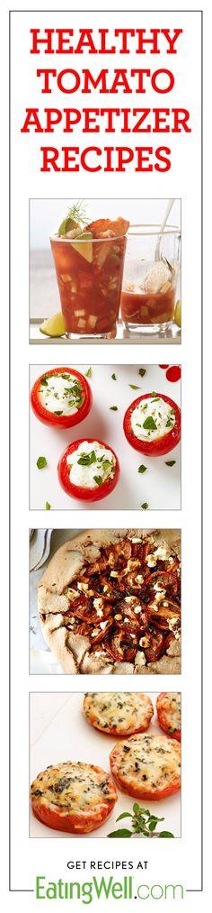 Gazpacho, Stuffed Tomatoes, Tomato Tart, Baked Parmesan Tomatoes and ...