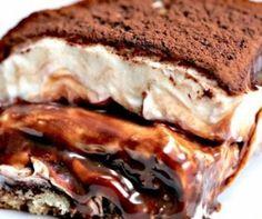Nutellamisu (nutellás tiramisu), amit mindig is ki akartál próbálni! Twisted Recipes, Cooking Chocolate, Nutella, Baileys, Cheesesteak, Tiramisu, French Toast, Sandwiches, Food And Drink