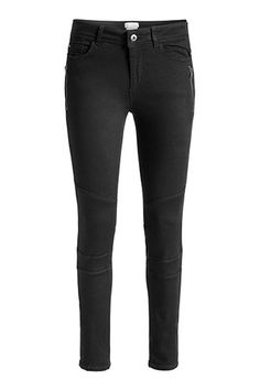 Esprit, smooth stretch trousers with zips, size Pants For Women, Black Jeans, Trousers, Smooth, Skinny, Zip, My Style, Clothes, Fashion