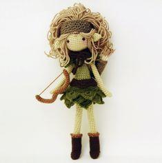 Lucia, The Huntress Amigurumi Pattern
