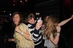 One of my Favourite shots, moshing at the rockpile in 2011 to my cousins band Full Tipped Sleave