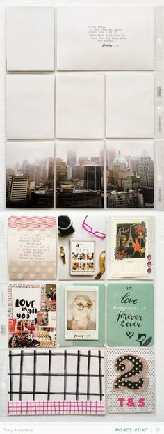 Studio Calico: Cirque Project Life Kit | the single girl's scrapbook