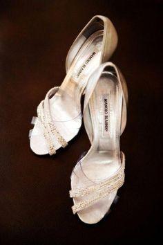 ffa9f5c3c753 by Manolo Blahnik  ManoloBlahnik Silver Strappy Shoes