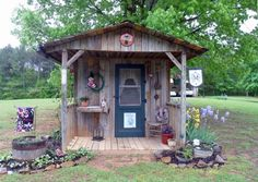 Jeannie's 'his and Hers' Garden Sheds