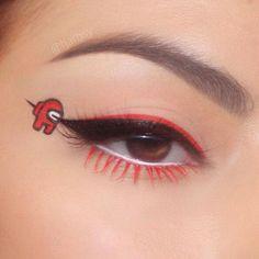 Edgy Makeup, Makeup Eye Looks, Eye Makeup Art, Crazy Makeup, Cute Makeup, Makeup Inspo, Eyeshadow Makeup, Makeup Inspiration, Crazy Eyeshadow