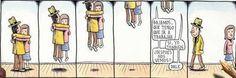 Bajamos que tengo que ir a trabajar   By Liniers