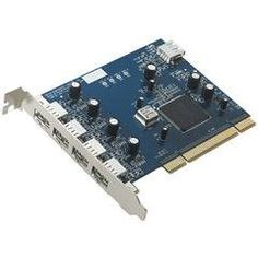 5-Port USB 2.0 PCI Card by Belkin. $37.34. 5-Port USB 2.0 PCI CardliAdds 1 internal and 4 external USB 2.0 ports to a ComputerliUp to 480Mbps data transfer speedliSupports up to 127 high-speed devicesliPlug-and-play useliCompatible with USB 1.1 devicesliLifetime warrantyliIncludes installation CD. Save 17%!