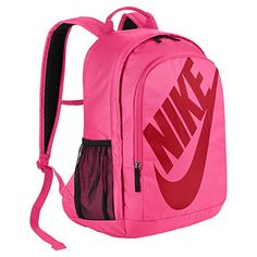 Men s Nike Sportswear Hayward Futura Backpack Digital Pink University Red  Size One Size Polyester shell has a dense weave for lasting durability. 7fd5ca996823b