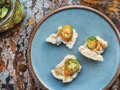 Pork Rind Oyster Snacks