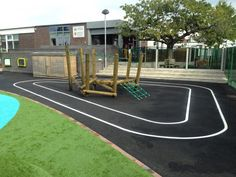 School Play Area Graphics