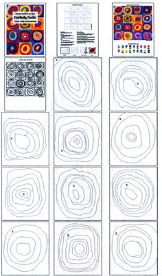 Kandinsky Circles · Art Projects for Kids