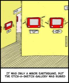 Etch-A-Sketch Gallery - hilarious. #arthumor