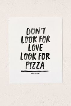 Timothy Goodman Don't Look For Love Art Print | Urban Outfitters