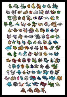 Pokemon parody Generation III third 3rd cross by FangirlStitches