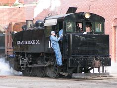 Granite Rock #10 An 0-6-0T switcher (Porter, 1942), used by the California State Railroad Museum