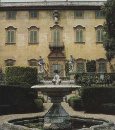 Following his death in 1994, Sir Harold Acton bequeathed La Pietra in Florence, Italy and his fortune to New York University, so that the villa and its collections could be preserved and the 57-acre estate, including four other villas, could be used for academic purposes.
