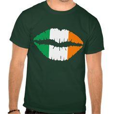 Irish Flag Kiss Me I'm Irish T-Shirt