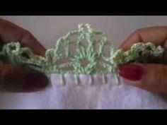 Como fazer bico de crochê