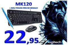 Teclado Logitech MK120 más ratón. Simplicidad sin cables
