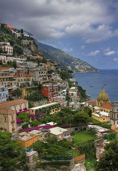 Beautiful Seaside Resort of Positano on The Amalfi Coast Beautiful Sites, Beautiful Places To Visit, Wonderful Places, Beautiful World, Italy Vacation, Vacation Spots, Italy Travel, Places Around The World, The Places Youll Go