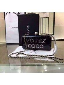 Chanel Votez COCO Minaudiere Clutch Fall/Winter 2015