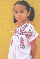 メキシコ刺繍民族衣装ブラウス「サンアントニーノ」