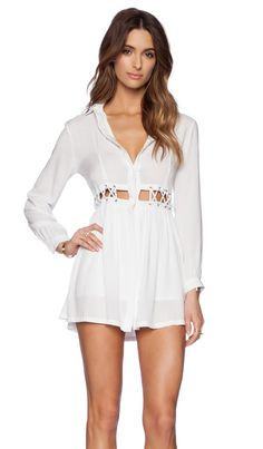 ASILIO The Great Divide Dress en Blanco | REVOLVE