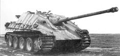 Jagdpanther (Hunting Panther) German tank destroyer. #30A (B&W)