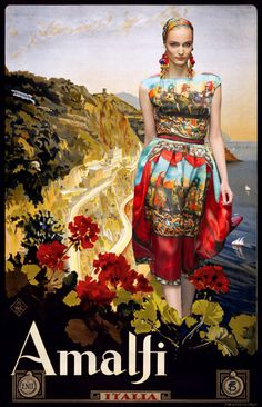 colour comparison instead. matching some of my favourite Dolce & Gabbana outfits to vintage travel posters,   Miss Moss : Fashion : Page 9