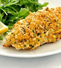 Pangafilet is een populair, lekker visje en goed te combineren in je gerechten. Met deze citroen-parmezaankorst is-ie nóg lekkerder! :)
