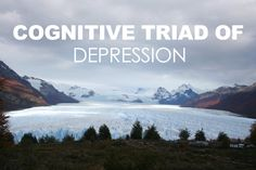 Cognitive Triad Of Depression [ negative thought --> isolation --> negative world view --> ... △ ]
