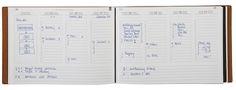 Der wunderbare Notizbuchblog schreibt über unser X17 A5+ Quer