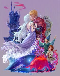ArtStation - The Last Unicorn, Karla Ortega Unicorn Horse, Unicorn Art, Unicorn Fantasy, Fantasy Magic, Fantasy Art, Arte Disney, Disney Art, Fantasy Creatures, Mythical Creatures