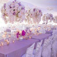 Lavender wedding decorations ideas about lavender wedding centerpieces pinteres on wedding dacor Lavender Wedding Decorations, Quince Decorations, Quinceanera Decorations, Lilac Wedding, Wedding Table Centerpieces, Flower Centerpieces, Wedding Themes, Wedding Designs, Floral Wedding