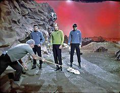 1966 ... 'Star Trek' set tidy | Flickr - Photo Sharing!