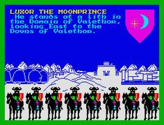 Lords of Midnight, ZX Spectrum