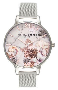 Olivia Burton Abstract Florals  Watch, 30mm