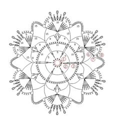 How To Knit: Crochet snowflakes, free crochet pattern Crochet Snowflake Pattern, Crochet Lace Edging, Crochet Stars, Crochet Snowflakes, Crochet Mandala, Crochet Diagram, Thread Crochet, Irish Crochet, Crochet Doilies